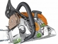 "Бензопила STIHL MS 180 C-BE 14"" - фото №4"